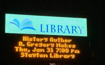 Stayton Library appearance