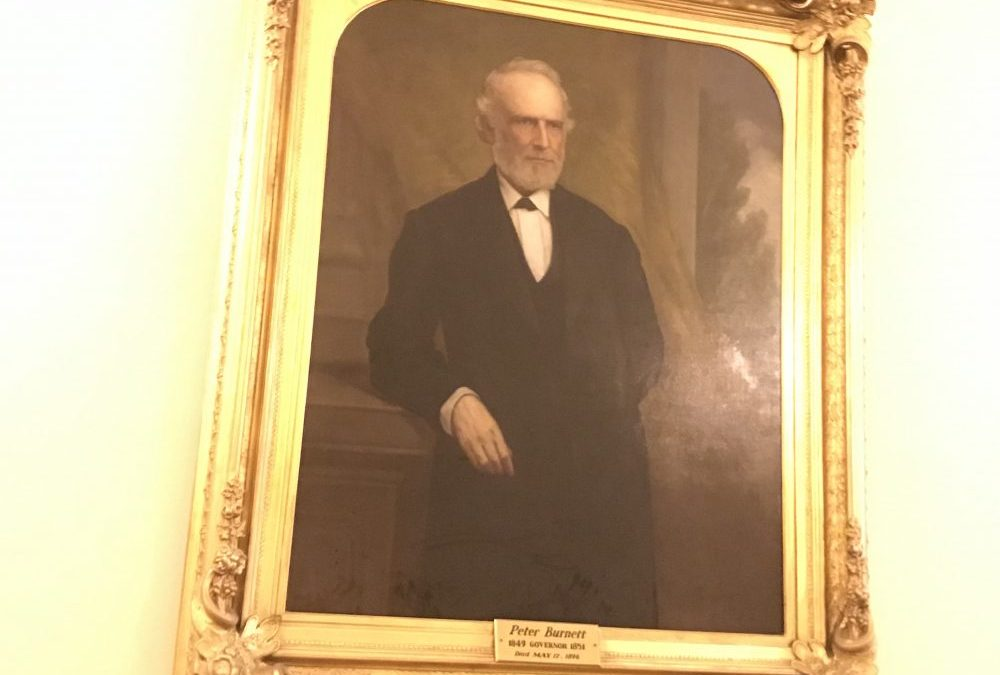 Gavin Newsom calls out California's racist first governor. Who was Peter Hardeman Burnett?